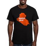 Baghdad Ass Up Men's Fitted T-Shirt (dark)