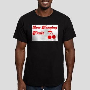 Low Hanging Fruit Men's Fitted T-Shirt (dark)