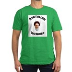 Ayatollah Assahola Men's Fitted T-Shirt (dark)