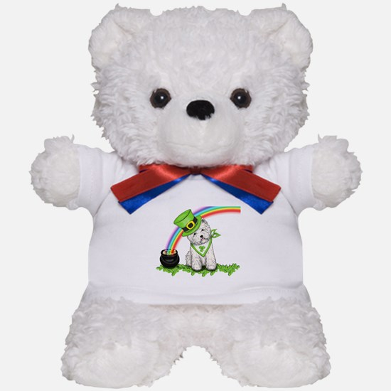 Shamrock Westie Teddy Bear