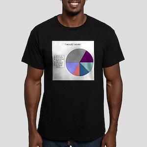 Rickroll Men's Fitted T-Shirt (dark)