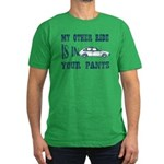 Ride In Your Pants Men's Fitted T-Shirt (dark)