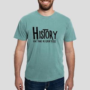 Repeat History Rough Text T-Shirt