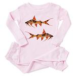 goonch catfish Toddler Pink Pajamas