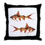 goonch catfish Throw Pillow