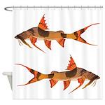 goonch catfish Shower Curtain