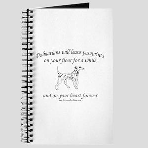 Dalmatian Pawprints Journal