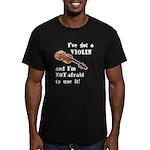 I've Got a Violin Men's Fitted T-Shirt (dark)