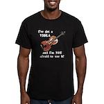 I've Got a Viola Men's Fitted T-Shirt (dark)