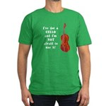 I've Got a Cello Men's Fitted T-Shirt (dark)
