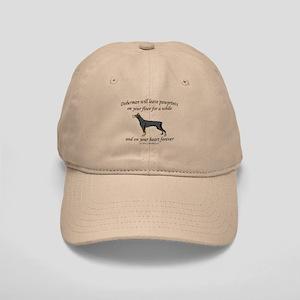 Doberman Pawprints Cap