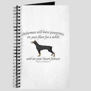 Doberman Pawprints Journal