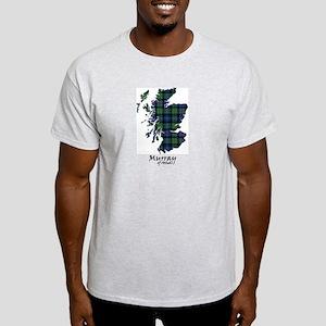 Map-MurrayAtholl Light T-Shirt