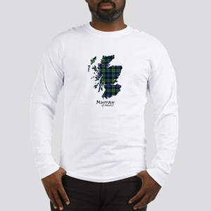 Map-MurrayAtholl Long Sleeve T-Shirt