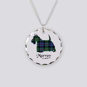 Terrier-MurrayAtholl Necklace Circle Charm