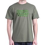 I'm NOT Irish - Don't Kiss Me! Dark T-Shirt