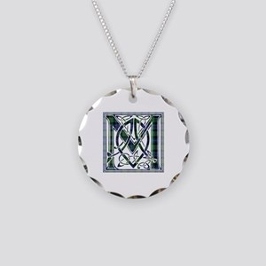Monogram-MurrayAtholl Necklace Circle Charm