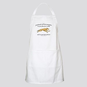 Greyhound Pawprints BBQ Apron