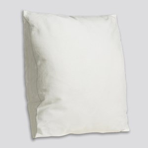 180° pivot Burlap Throw Pillow