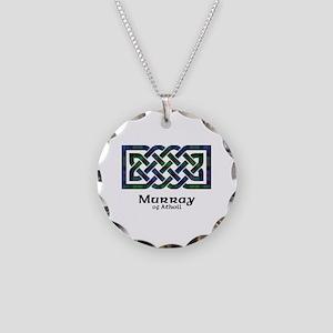 Knot-MurrayAtholl Necklace Circle Charm