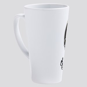 Badge-MurrayAtholl 17 oz Latte Mug