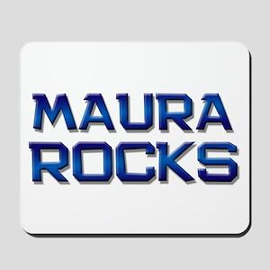 maura rocks Mousepad