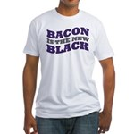 Bacon Is The New Black Fitted T-Shirt