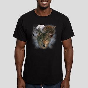Watchful Eyes Men's Fitted T-Shirt (dark)