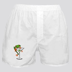 Frog and Martini Boxer Shorts