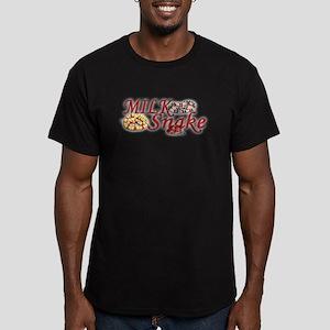 Milk Snake Men's Fitted T-Shirt (dark)