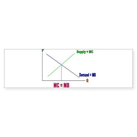MC = MB Bumper Sticker
