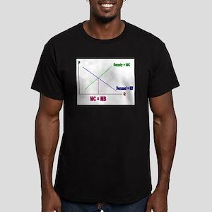 MC = MB Men's Fitted T-Shirt (dark)