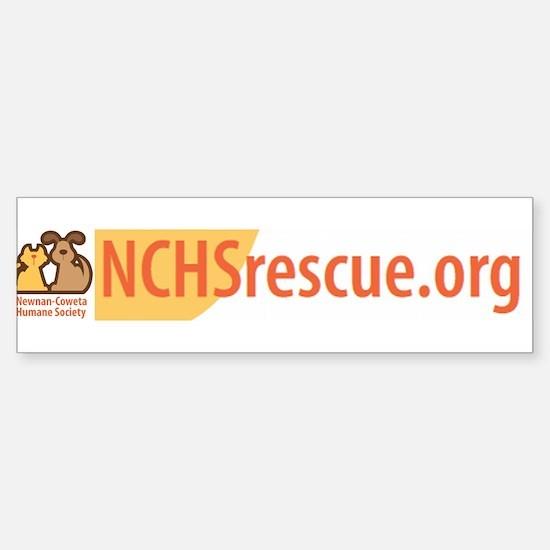 Newnan-Coweta Humane Society Bumper Bumper Bumper Sticker