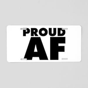 AF Aluminum License Plate