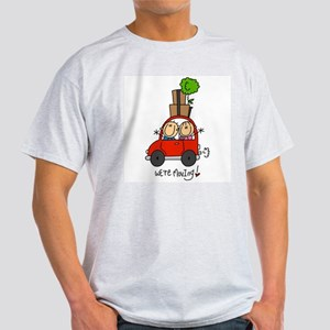 Car We're Moving Light T-Shirt
