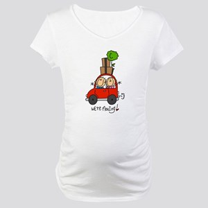 Car We're Moving Maternity T-Shirt