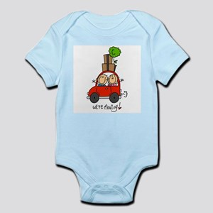 Car We're Moving Infant Bodysuit