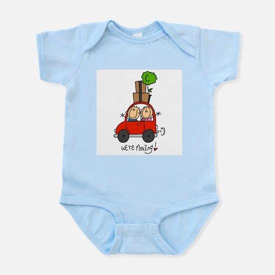 Car We're Moving Infant Bodysuit