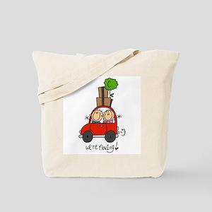 Car We're Moving Tote Bag