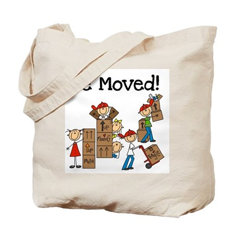 Unpacking We Moved Tote Bag