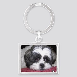 Shih Tzu Dog Photo Keychains