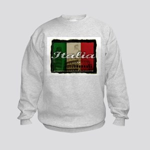 Italian pride Kids Sweatshirt