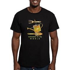 Garden Tools Men's Fitted T-Shirt (dark)