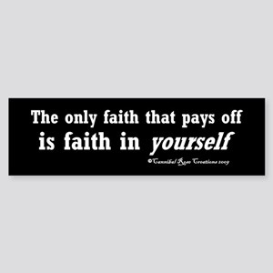 Real Faith Sticker 2 (Bumper)