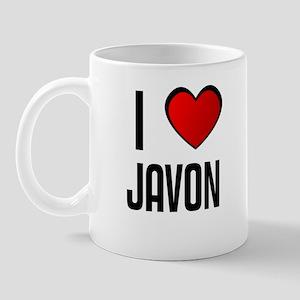 I LOVE JAVON Mug