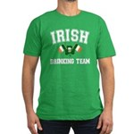 Irish Drinking Team Men's Fitted T-Shirt (dark)