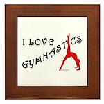 Gymnastics Framed Tile - Love