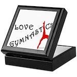Gymnastics Keepsake Box - Love