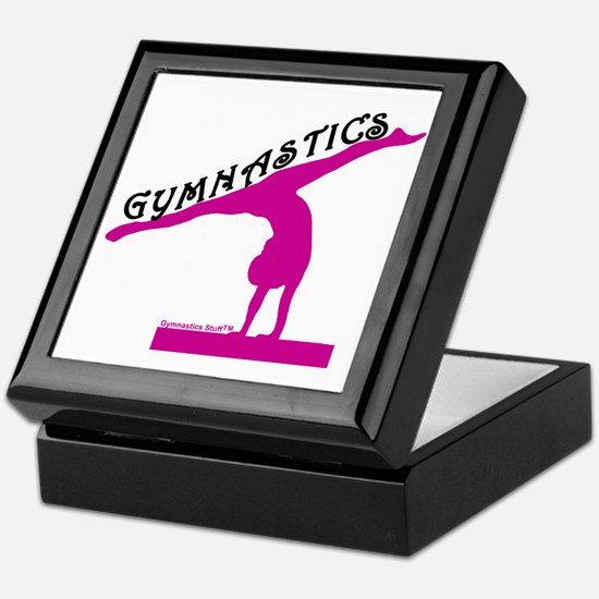 Gymnastics Keepsake Box
