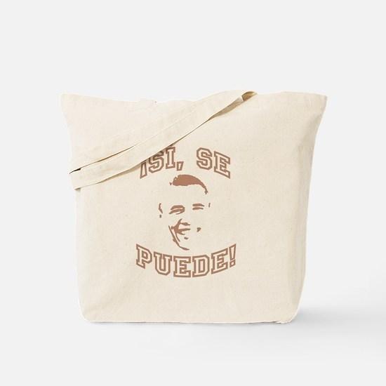 Unique Obama si se puede Tote Bag